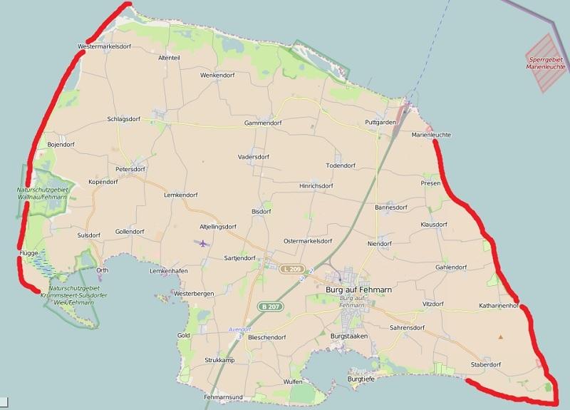 Fehmarn Karte Ostsee.Steinkern De Die Fossilien Community Das Nordliche