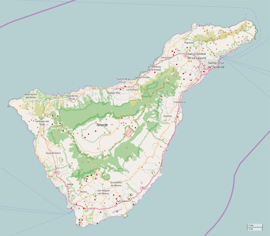 Teneriffa Karte Europa.Steinkern De Die Fossilien Community Zu Besuch Auf Der
