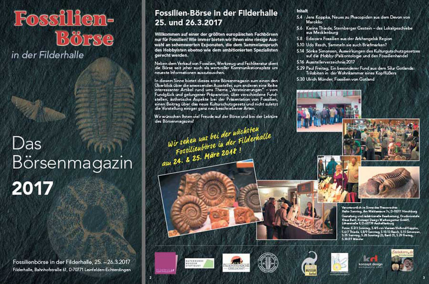 2017 Fossilien Boerse Magazin Preview